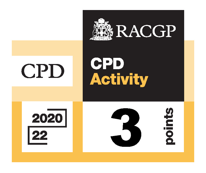 RACGP CPD - CPD Activity logo 3 points 20-22